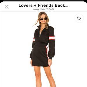 $158 sweater dress on revolve still